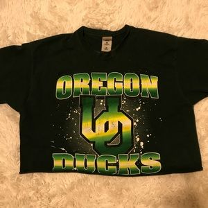 Vintage University of Oregon Crop Top